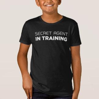 Geheimer Agent im Trainings-T - Shirt