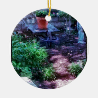 Geheimer Garten Keramik Ornament