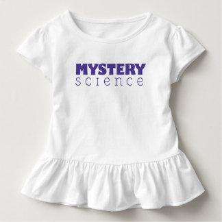 Geheimnis-Wissenschaft gekräuseltes Kleinkind T-shirt