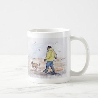 Gehen der Hund - 01 Kaffeetasse