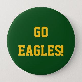 Gehen Eagles Runder Button 10,2 Cm