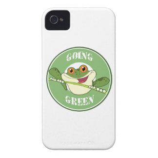 Gehen Frosch grüner iPhone 4 Etuis