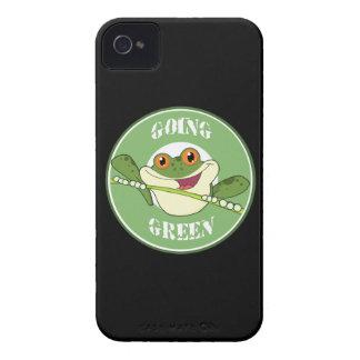 Gehen Frosch grüner iPhone 4 Hüllen