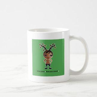 Gehen Grün für den Planeten! Tasse