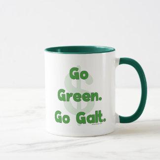 Gehen Grün gehen Galt Tasse