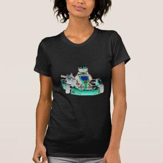 Gehen Kart Rennläufer umgekehrte Farbe T-Shirt