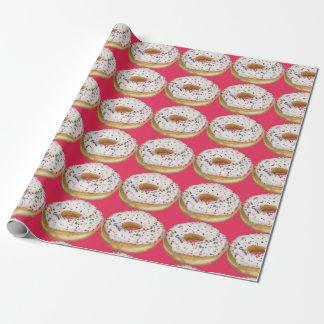 Gehen Nüsse mit Schaumgummiring-Packpapier Geschenkpapierrolle