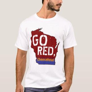 Gehen Rot, Cheesehead T-Shirt