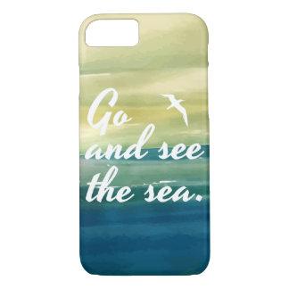 Gehen Sie den Telefon-Kasten des Meer| sehen iPhone 8/7 Hülle