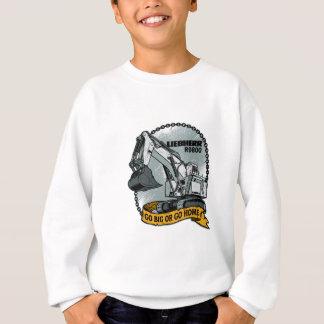 Gehen Sie groß oder gehen Sie Zuhause Sweatshirt