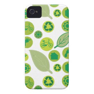 Gehen umweltfreundliche grüne iPhone 4 Case-Mate hüllen