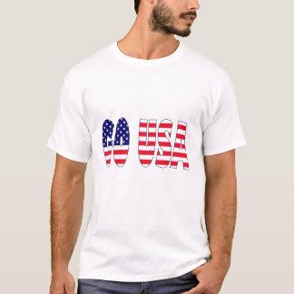 Gehen USA-Flagge T-Shirt