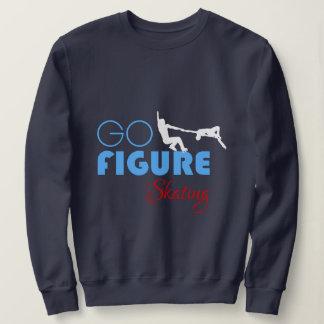 Gehen Zahl lustiges elegantes des Skaten Sweatshirt