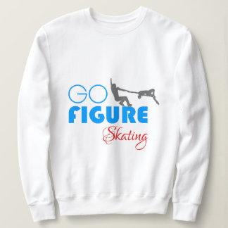 Gehen Zahl lustiges schönes des Skaten Sweatshirt