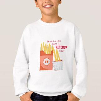 Gehen zum Ketschup Sweatshirt
