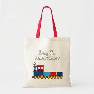 Gehen zur Großmutter-/Großvater-Tasche Tragetasche