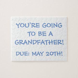 """""""Gehend, ein Großvater zu sein!"""" Puzzlespiel"""