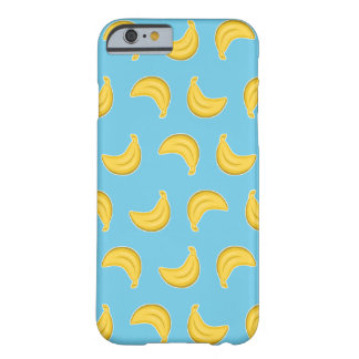 Gehende Bananen im Blau Barely There iPhone 6 Hülle