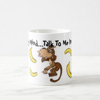 Gehender Banane ohne Ihre Kaffee-Tasse Tasse