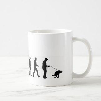 Gehender Hund der Evolution VMO08 der Hund Kaffeetassen