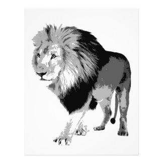 Gehender Löwe Individuelle Flyer