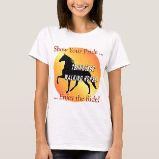Gehender Pferdestolz T-Shirt