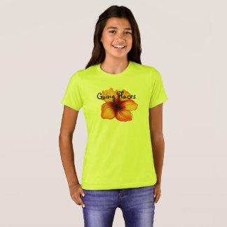 Gehendes Platz-Shirt T-Shirt