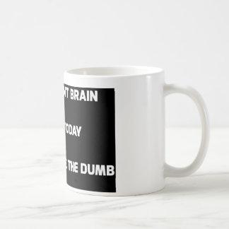 Gehirn Kaffeetasse
