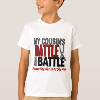 Gehirn-Krebs MEIN KAMPF ZU 1 Cousin (weiblich) T-Shirt