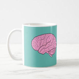 Gehirn-NahrungsmittelTasse Kaffeetasse