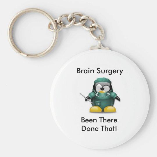 Gehirn-Operations-Überlebender KeyChain Standard Runder Schlüsselanhänger