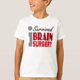 Gehirn-Operations-Überlebender scherzt Shirt