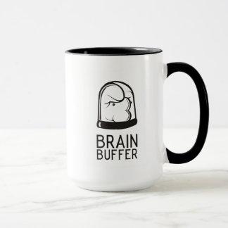 Gehirn-Puffer-Tassen-Dunkelheit Tasse