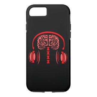 Gehirn-Stau (rot) iPhone 8/7 Hülle