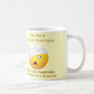 Gehirn-Verletzungs-Bewusstseins-Tasse Kaffeetasse