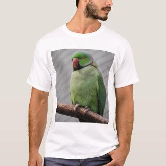 Gehockter Rose-beringter Parakeet T-Shirt
