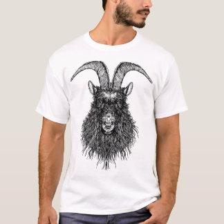 Gehörnter Ziegen-Kopf T-Shirt