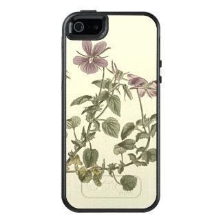 Gehörntes Veilchen-botanische Illustration OtterBox iPhone 5/5s/SE Hülle