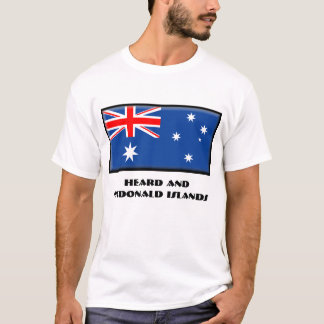 Gehörte und McDonald-Inseln T-Shirt