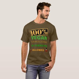 Geht Erntedank veganer. Keine Truthähne erlaubt! T-Shirt