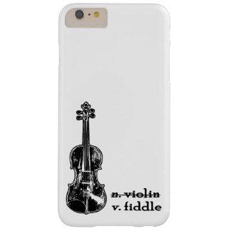 Geige, nicht ein Violinen-Telefon-Kasten Barely There iPhone 6 Plus Hülle