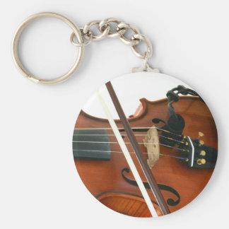 Geige Schlüsselanhänger