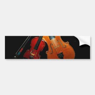 Geigen-Autoaufkleber Autoaufkleber