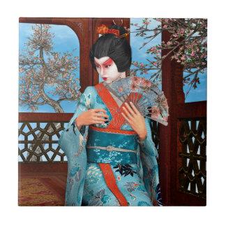 Geisha Keramikfliese