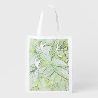 Geißblatt-wiederverwendbare Tasche Wiederverwendbare Einkaufstasche