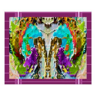 Geist-Anwesenheit - geheime Symbole Poster