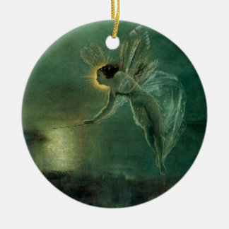 Geist der Nacht durch Grimshaw, viktorianische Fee Keramik Ornament