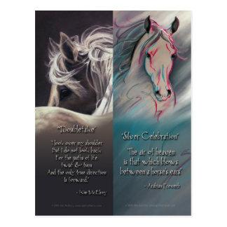 Geist der PferdeLesezeichen Postkarte