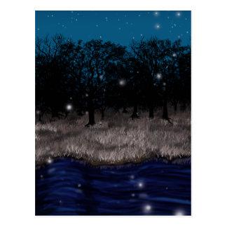 Geist-Fluss Postkarte