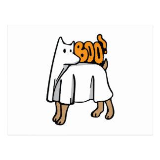 Geist-Hund Postkarte